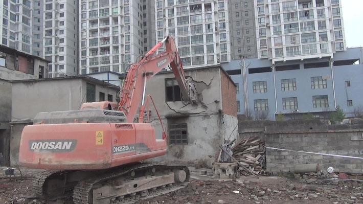 违章建筑房屋拆除