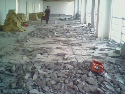 商场店铺装修拆除