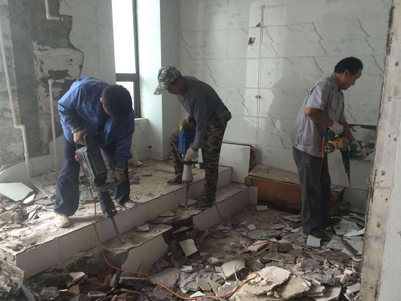 墙体拆除拆旧