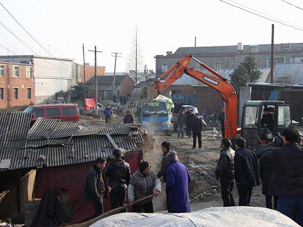 上海违章建筑拆除拆旧