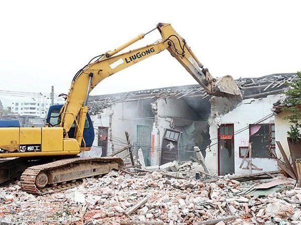 商场拆除方案