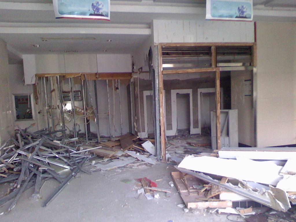 商场吊顶拆除