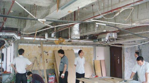 办公室室内装修拆除