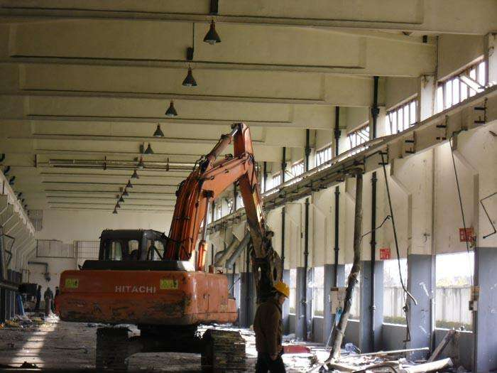 厂房吊顶拆除