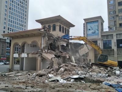 临时售楼部拆除
