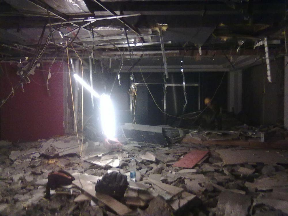 百脑汇商场装修升级改造拆除