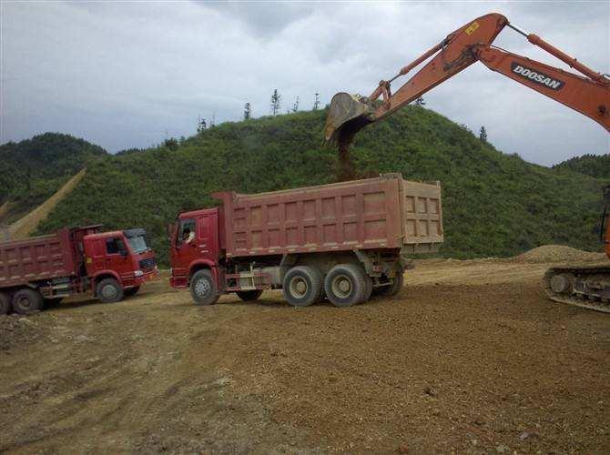 温州垃圾土方运输车