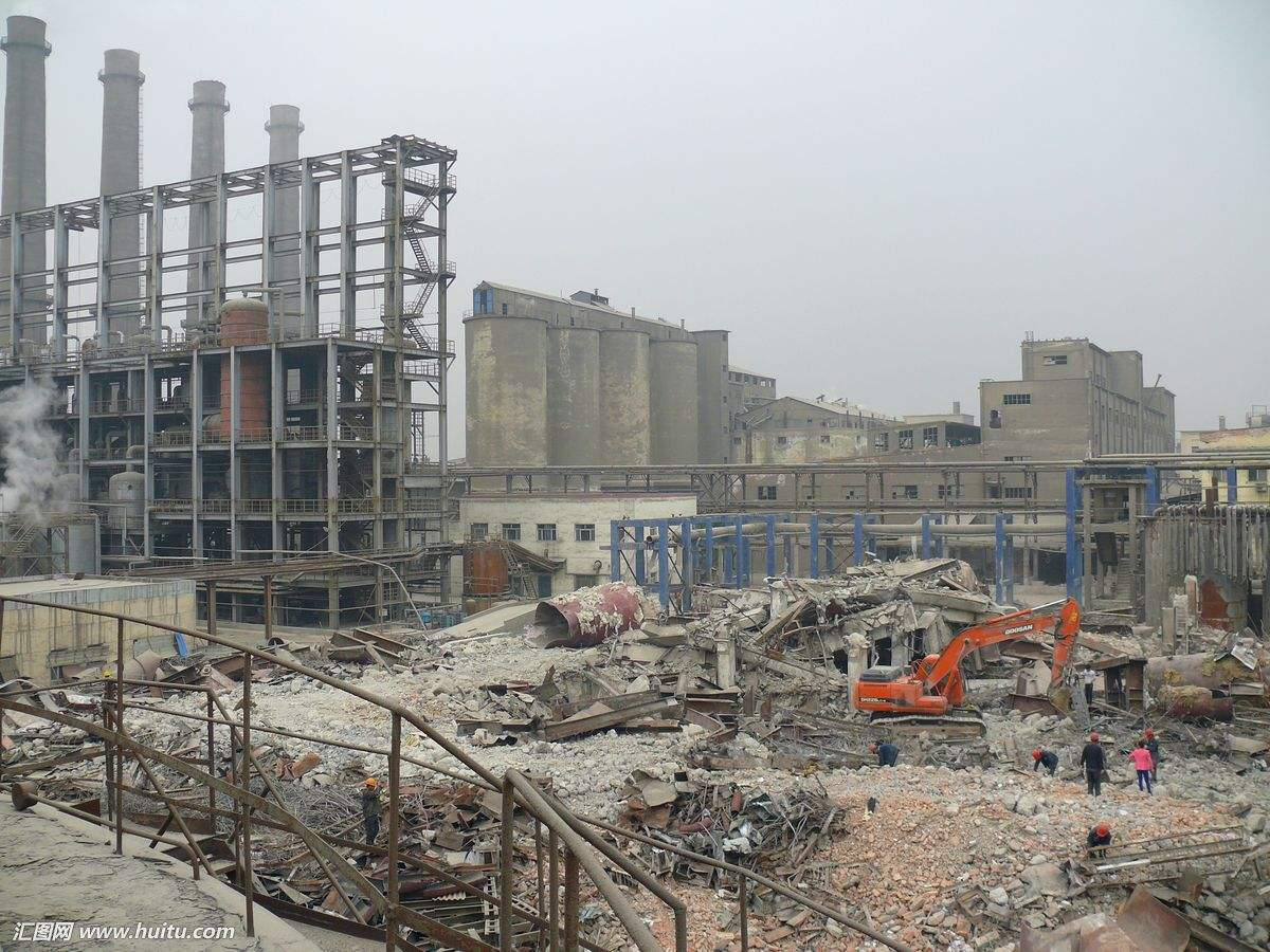 厂房地坪拆除