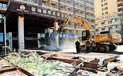 餐饮酒店吊顶拆除