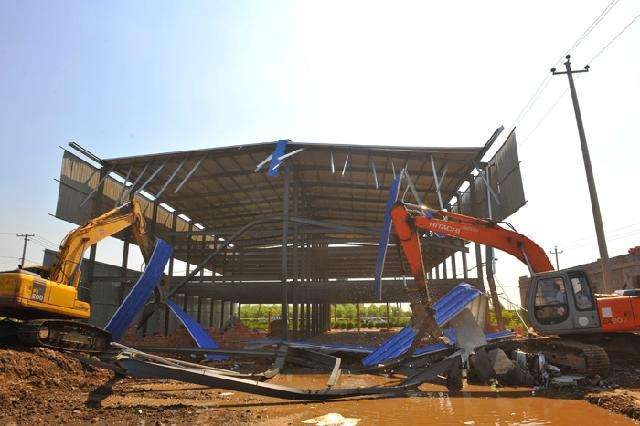 厂房钢结构拆除