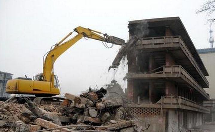 写字楼房屋拆除