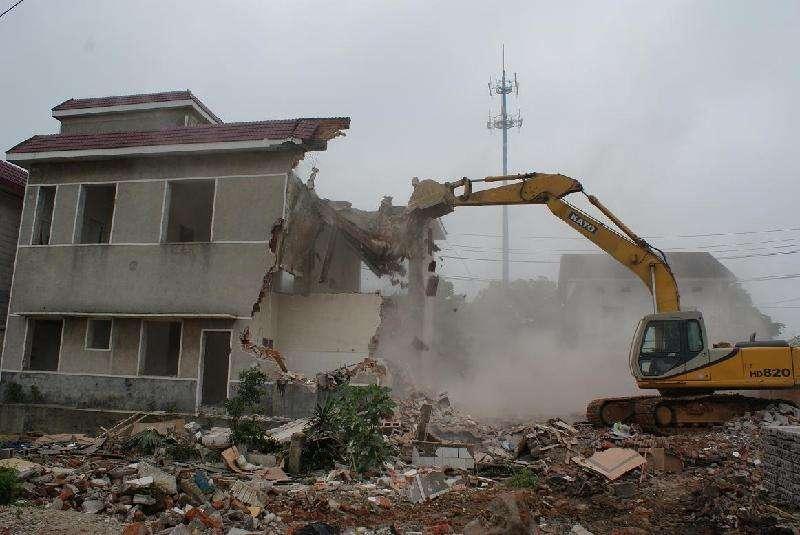 别墅房屋拆除