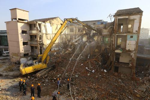 学校房屋拆除